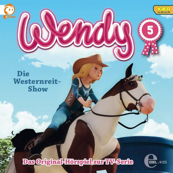 Folge 5: Die Westernreit-Show  -  Das argwöhnische Pferd (Das Original-Hörspiel zur TV-Serie) Cover