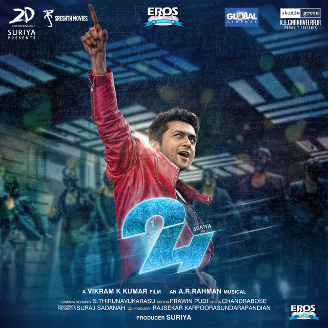 24 (Telugu) (Original Motion Picture Soundtrack)