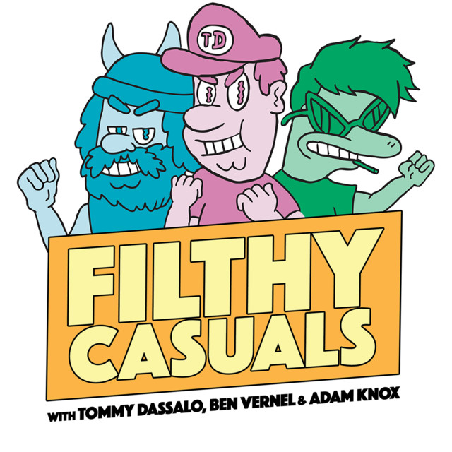 Filthy Casuals with Tommy Dassalo, Ben Vernel and Adam Knox on Spotify