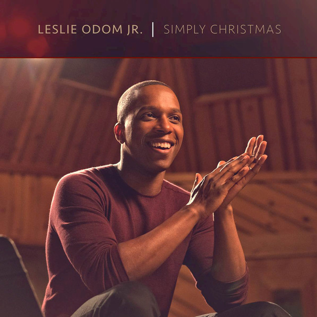 Album cover for Simply Christmas by Leslie Odom Jr.