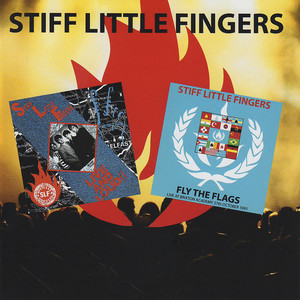 Stiff Little Fingers Wasted Life cover