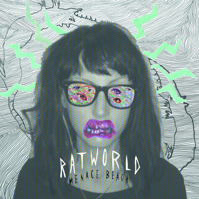 Album cover for Ratworld by Menace Beach