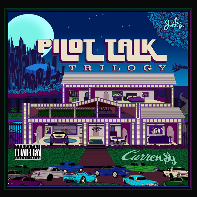 Album cover for Pilot Talk: Trilogy by Curren$y