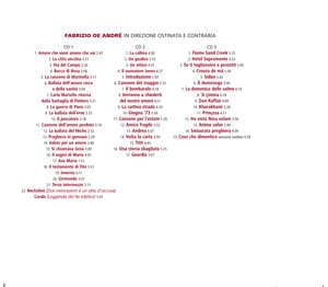 In Direzione Ostinata e Contraria - Fabrizio De Andrè