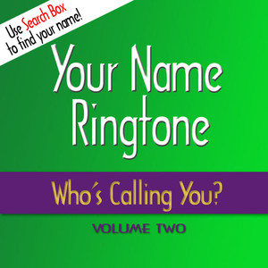 Your name ringtone on spotify for 1 2 3 4 get on the dance floor ringtone