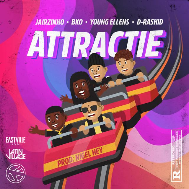 Jairzinho & BKO & Young Ellens & D-Rashid - Attractie