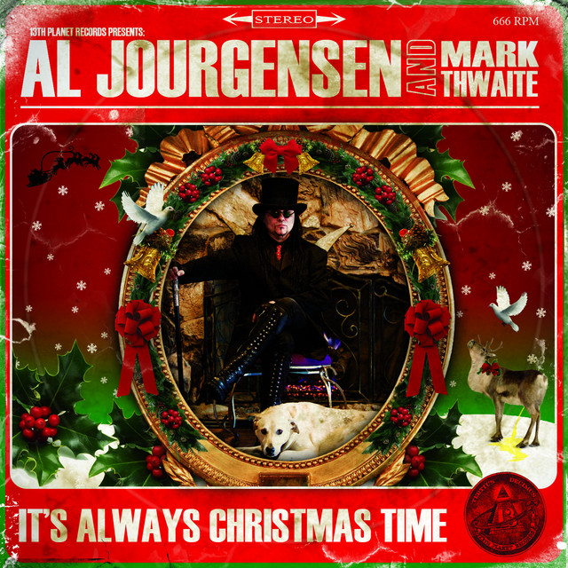 more by al jourgensen alien christmas - Always Christmas
