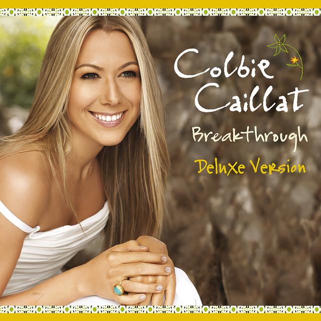 Colbie Caillat Breakthrough (Int'l Deluxe Version) album cover