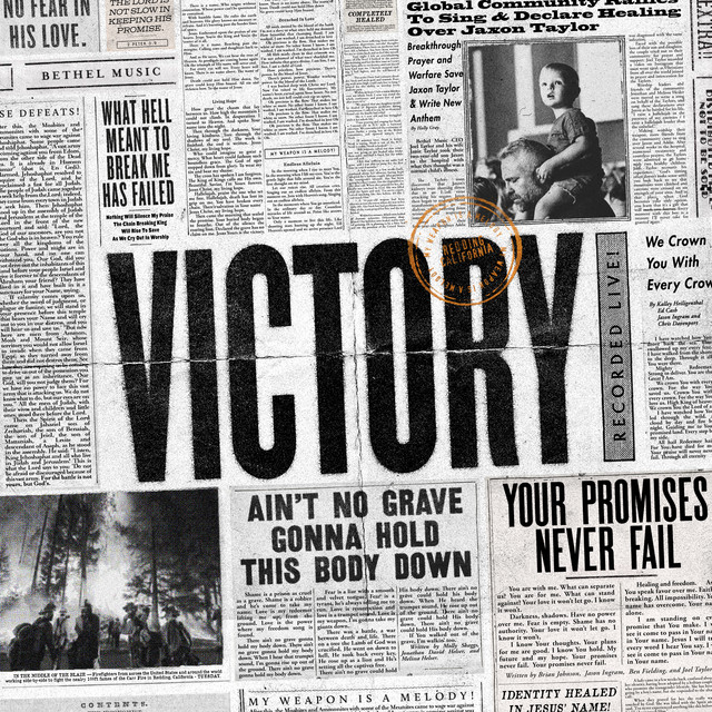 Album cover for Victory by Bethel Music