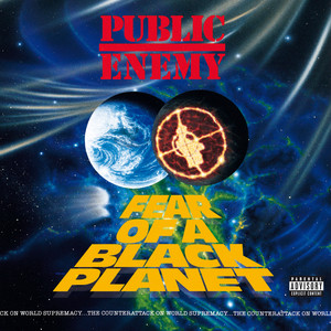Public Enemy Fear of a Black Planet cover