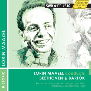 Lorin Maazel Conducts Beethoven and Bartok (1958) album