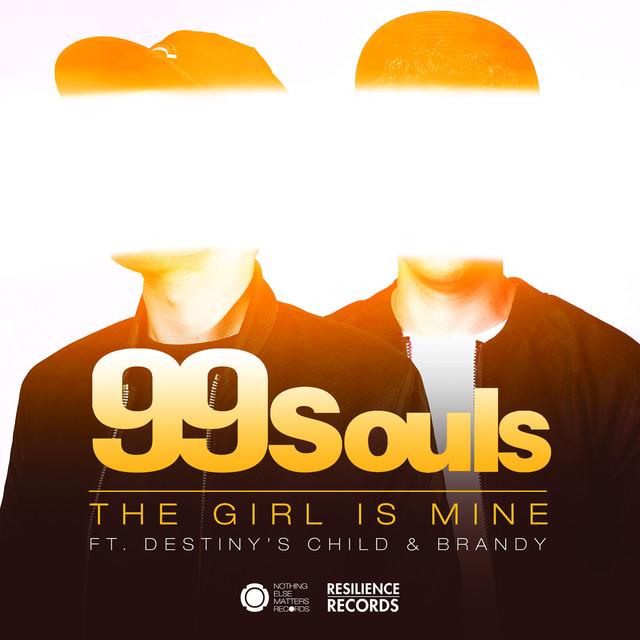 Album cover for The Girl Is Mine featuring Destiny's Child & Brandy (Remixes) - EP by 99 Souls