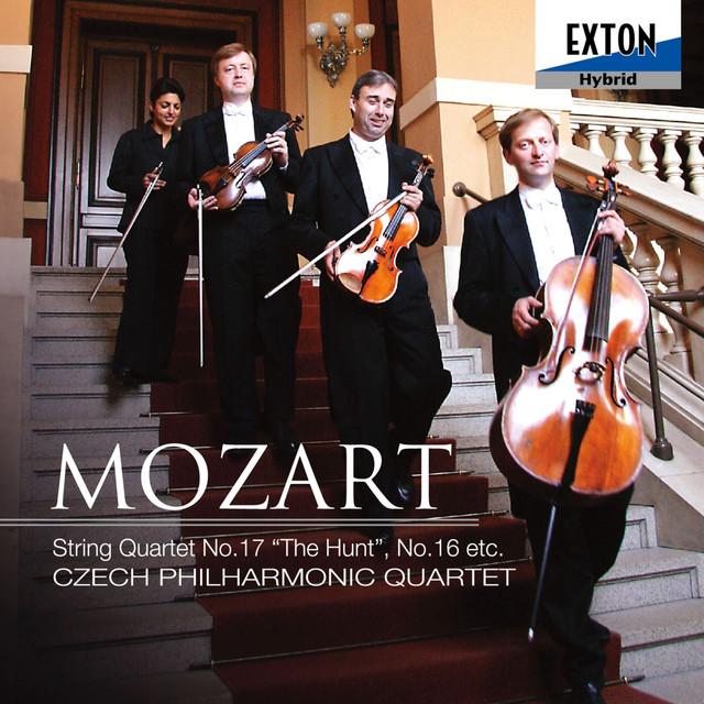 Mozart: String Quartet No. 17 ''The Hunt'' & No. 16 Albumcover
