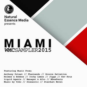 Natural Essence Media Presents: Miami 2015 Albumcover