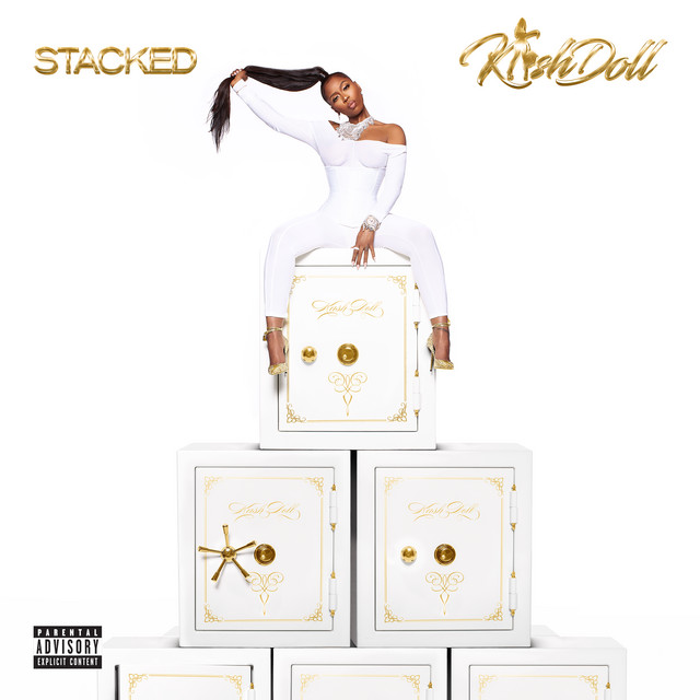 Album cover for Stacked by Kash Doll