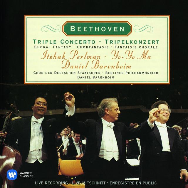 Beethoven: Triple Concerto & Choral Fantasy Albumcover