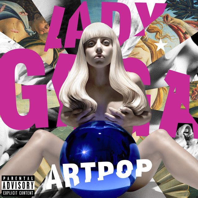 Image result for lady gaga artpop spotify