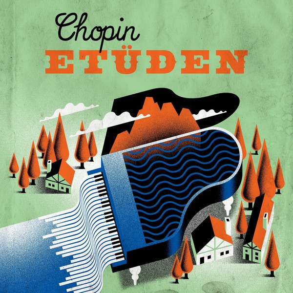 Chopin : 12 Etudes Op 25 : No 5 in E minor, a song by