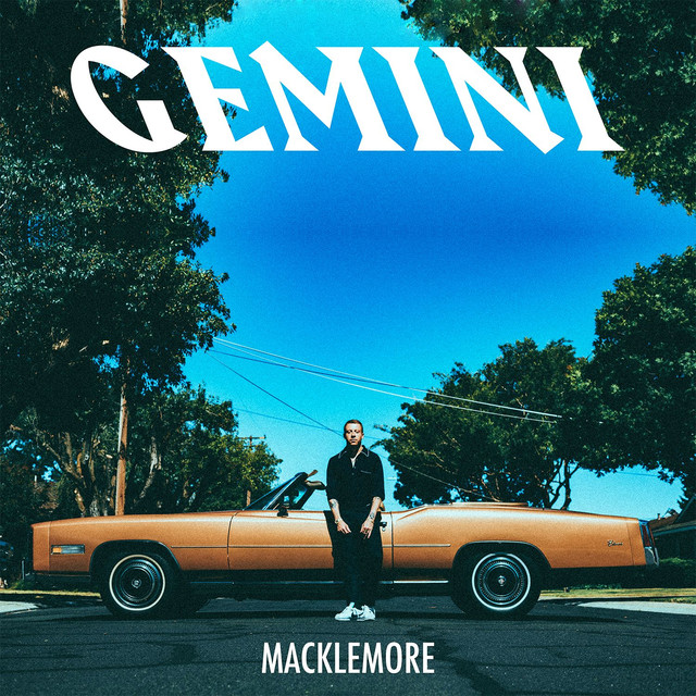 Album cover for GEMINI by Macklemore