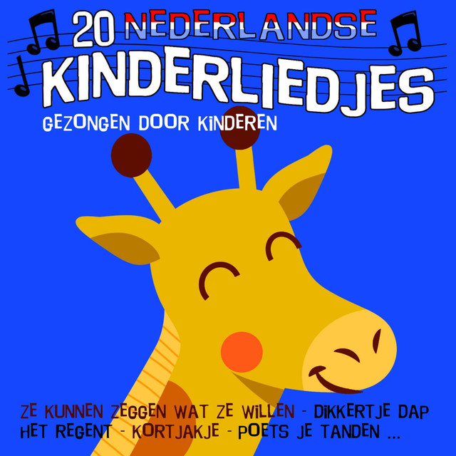 Album cover for 20 Nederlandse kinderliedjes by Kinderliedjes