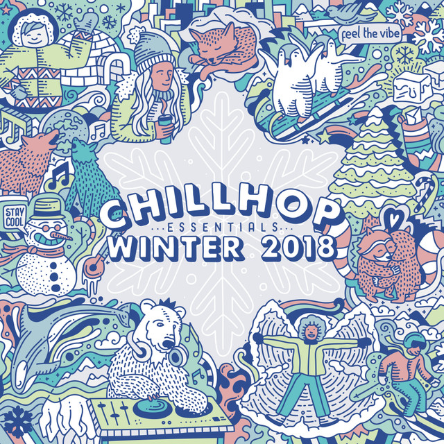 Album cover for Chillhop Essentials Winter 2018 by Various Artists