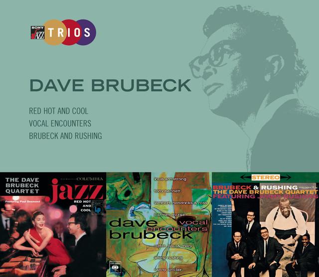 The Dave Brubeck Quartet Sony Jazz Trios album cover