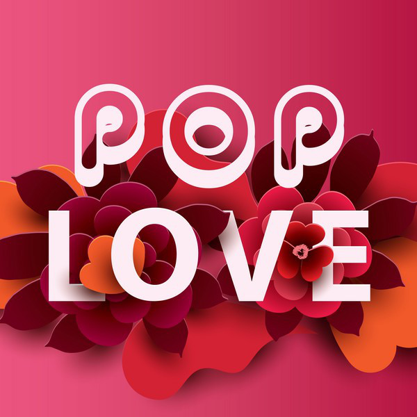 Album cover for Pop Love by Various Artists