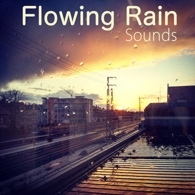 Flowing Rain Sounds Albumcover