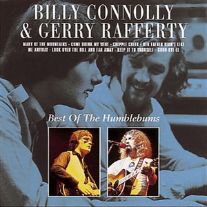 Billy Connolly, Billy Connolly, Gerry Rafferty Rick Rack cover
