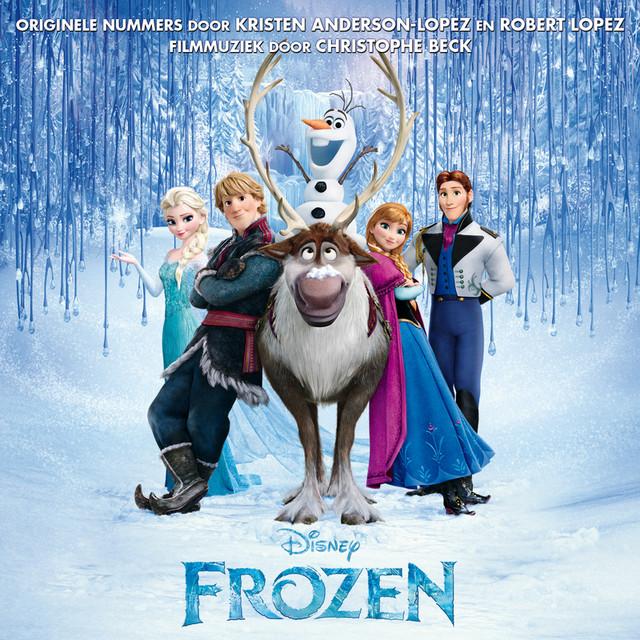 Various Artists Frozen (Originele Nederlandstalige Soundtrack) album cover
