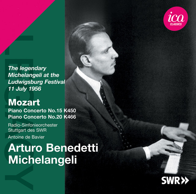 Mozart: Piano Concertos 15 & 20 Albumcover