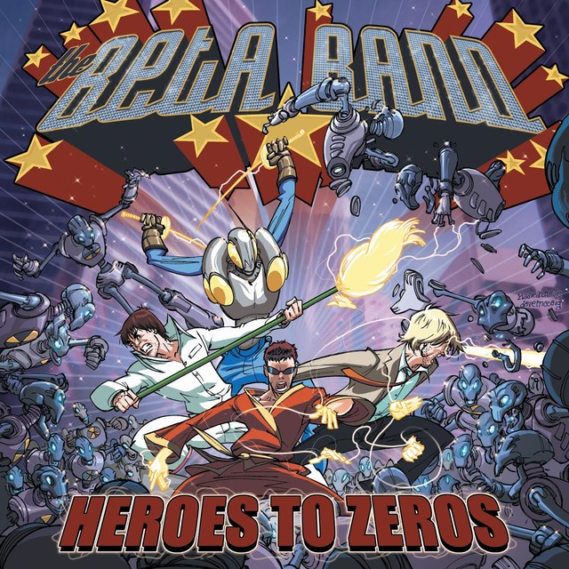 Album cover for Heroes To Zeros by The Beta Band