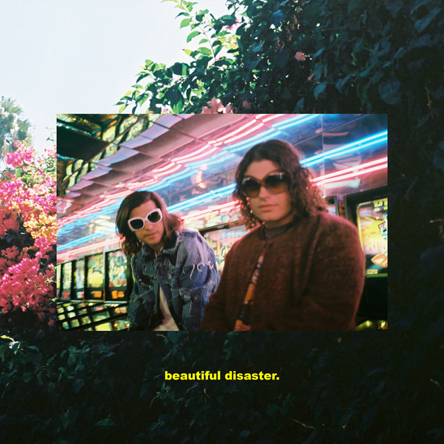Album cover for Beautiful Disaster by DVBBS