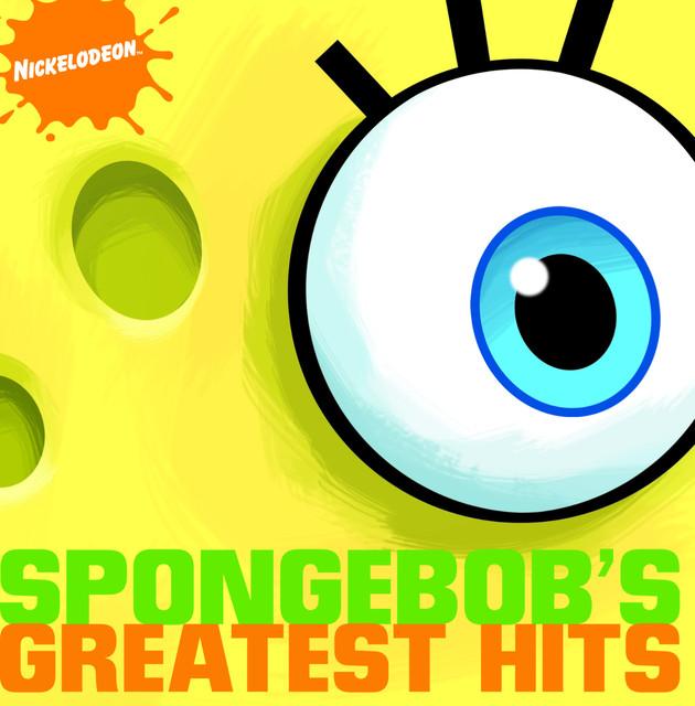 Spongebob Squarepants SpongeBob's Greatest Hits album cover