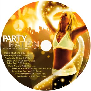 Party Nation: World Music By Zumba Fitness Albumcover