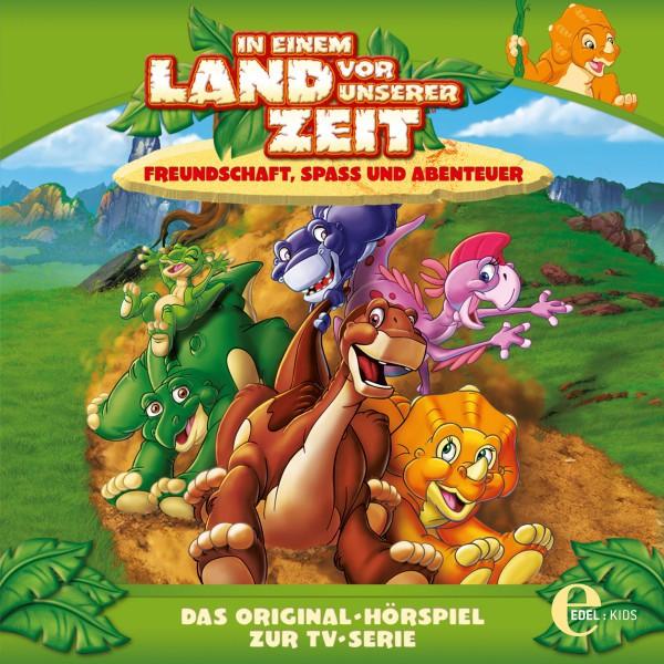 Folge 2: Die Schlüpftags-Feier  -  Der verlorene Glitzerstein (Das Original-Hörspiel zur TV-Serie) Cover