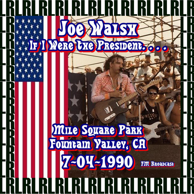 Mile Square Park, Fountain Valley, Ca. July 4th, 1990 (Remastered) [Live KLOS-FM Radio Broadcasting] Albumcover