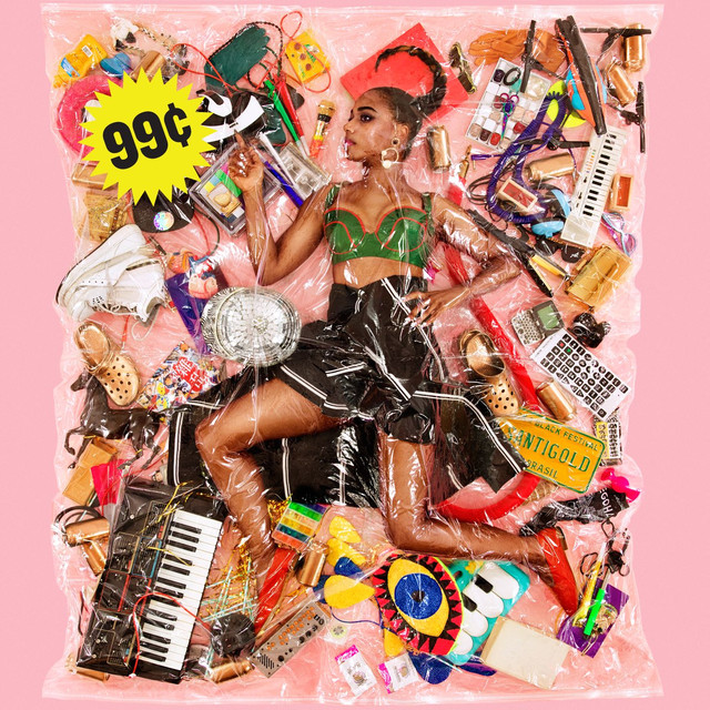 Album cover for 99 Cents by Santigold