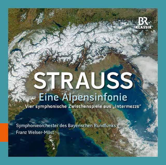 Strauss: Eine Alpensinfonie & Vier symphonische Zwischenpiele aus 'Intermezzo' Albumcover