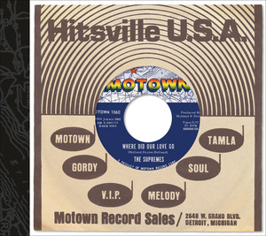 Martha Reeves and The Vandellas In My Lonely Room - Single Version (Mono) cover