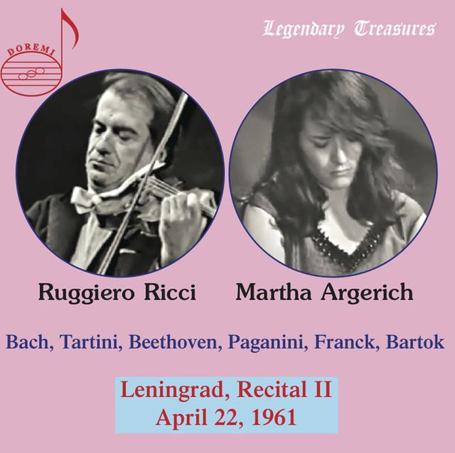 Argerich & Ricci: 1961 Leningrad Recital II