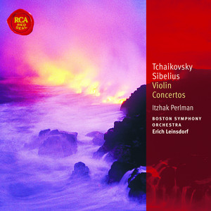 Tchaikovsky & Sibelius Violin Concertos: Classic Library Series Albumcover