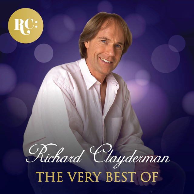 Album cover for The Very Best of Richard Clayderman by Richard Clayderman