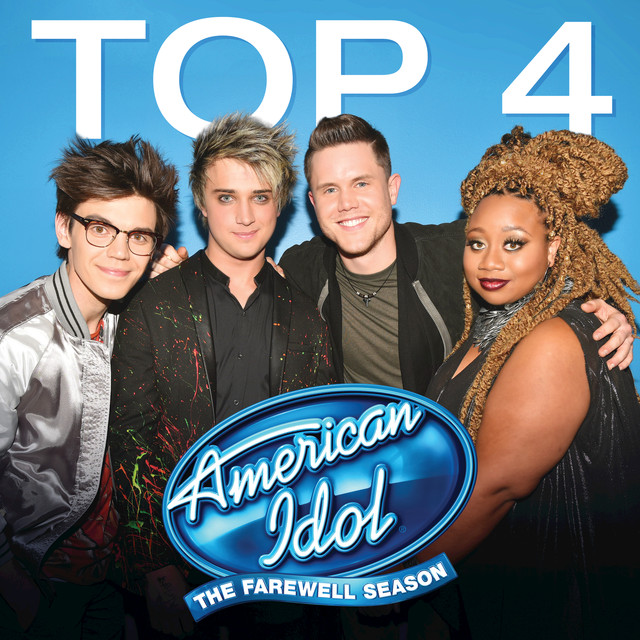 Album cover for American Idol Top 4 Season 15 by Various Artists
