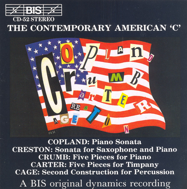 Copland / Carter / Cage: The Contemporary American ´C´ Albumcover