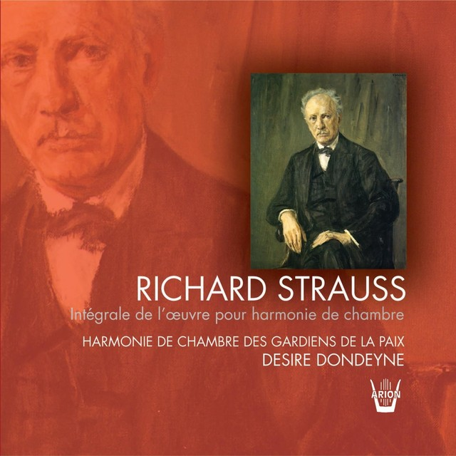 Strauss : Intégrale de la musique pour harmonie de chambre Albumcover