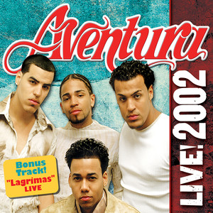 Aventura LIVE! 2002 Albumcover