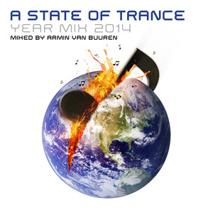 A State of Trance Year Mix 2014 (Mixed by Armin van Buuren) Albumcover