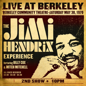 Live At Berkeley Albumcover