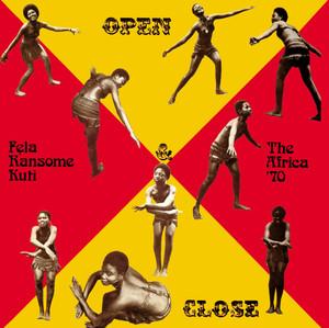 Open & Close / Afrodisiac Albumcover